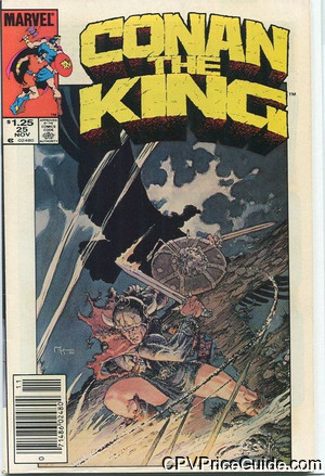 conan the king 25 cpv canadian price variant image