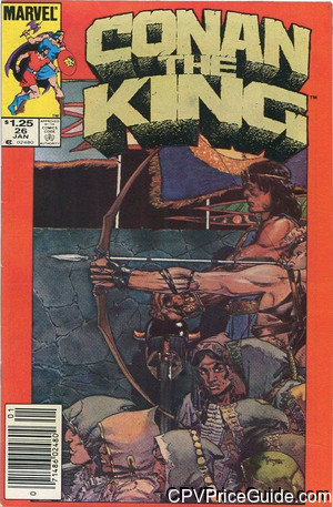 conan the king 26 cpv canadian price variant image