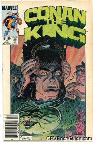 Conan The King #29 $1.50 Canadian Price Variant Comic Book Picture