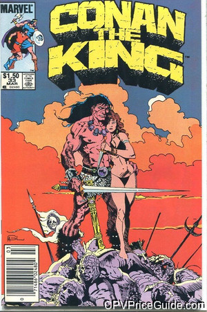 conan the king 33 cpv canadian price variant image