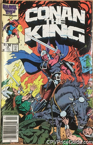 Conan The King #35 $1.50 Canadian Price Variant Comic Book Picture