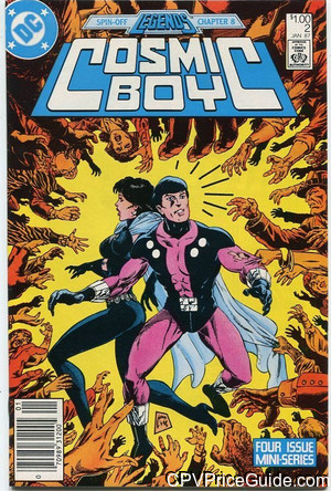 Cosmic Boy #2 $1.00 Canadian Price Variant Comic Book Picture