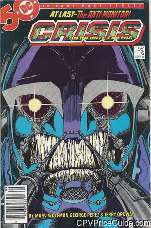 crisis on infinite earths 6 cpv canadian price variant image