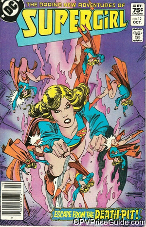 daring new adventures of supergirl 12 cpv canadian price variant image