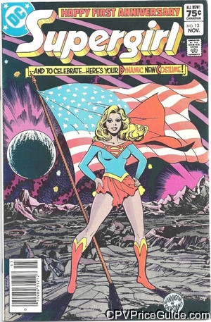 daring new adventures of supergirl 13 cpv canadian price variant image