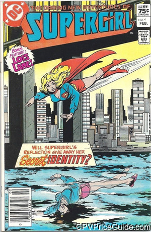 daring new adventures of supergirl 4 cpv canadian price variant image
