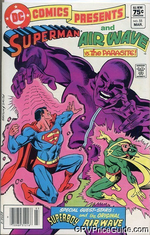 dc comics presents 55 cpv canadian price variant image