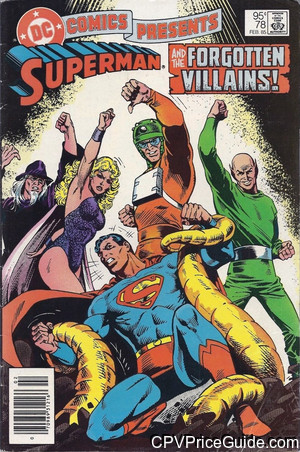 dc comics presents 78 cpv canadian price variant image