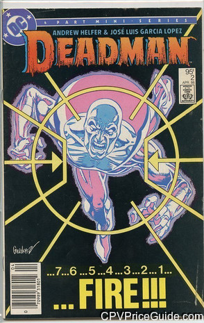 Deadman #2 95¢ Canadian Price Variant Comic Book Picture