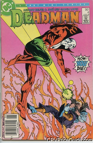 Deadman #4 95¢ Canadian Price Variant Comic Book Picture