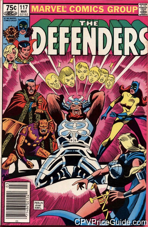 Defenders #117 75¢ Canadian Price Variant Comic Book Picture