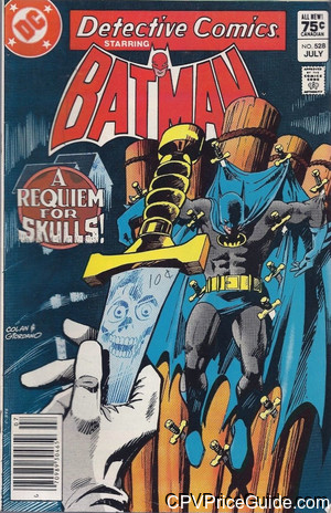 detective comics 528 cpv canadian price variant image