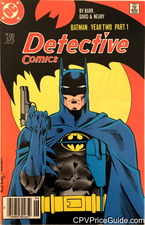 detective comics 575 cpv canadian price variant image