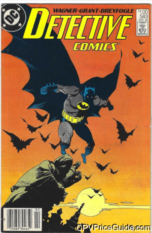 detective comics 583 cpv canadian price variant image
