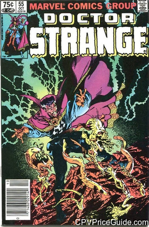 Doctor Strange #55 75¢ Canadian Price Variant Comic Book Picture