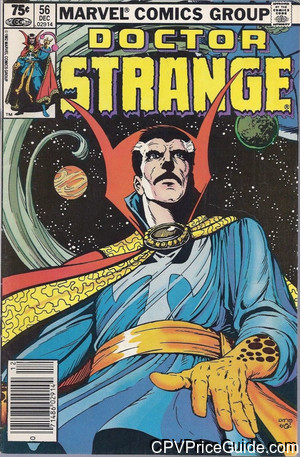 Doctor Strange #56 75¢ Canadian Price Variant Comic Book Picture