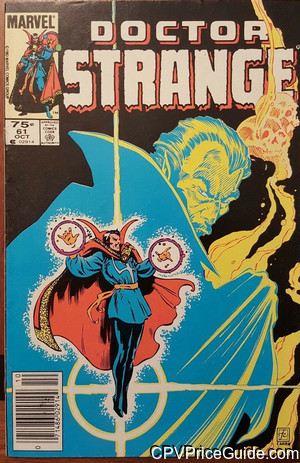 Doctor Strange #61 75¢ Canadian Price Variant Comic Book Picture