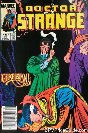 Doctor Strange #65 75¢ Canadian Price Variant Comic Book Picture