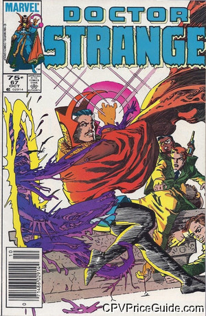 Doctor Strange #67 75¢ Canadian Price Variant Comic Book Picture