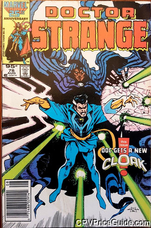 Doctor Strange #78 95¢ Canadian Price Variant Comic Book Picture
