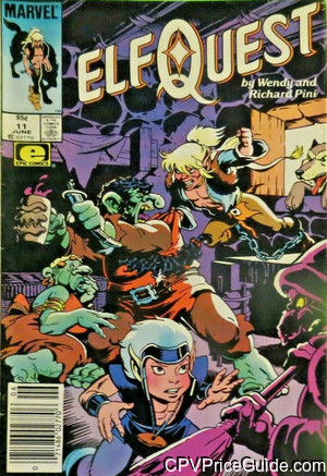 Elfquest #11 95¢ Canadian Price Variant Comic Book Picture