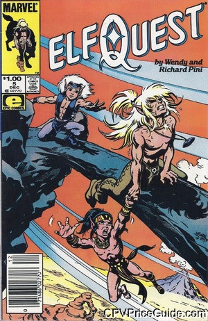 elfquest 5 cpv canadian price variant image