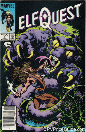 elfquest 6 cpv canadian price variant image