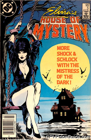 elviras house of mystery 5 cpv canadian price variant image
