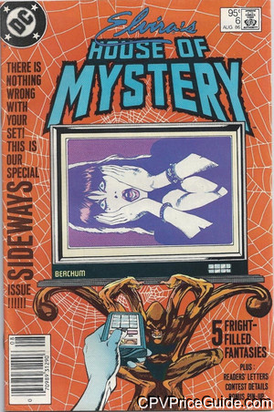 elviras house of mystery 6 cpv canadian price variant image