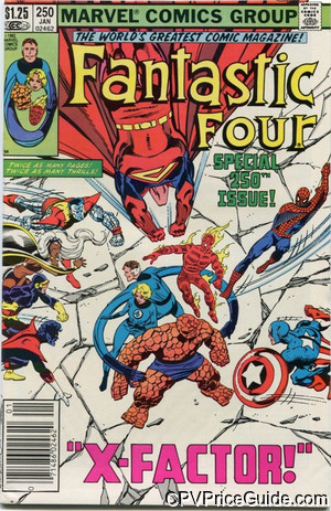 fantastic four 250 cpv canadian price variant image