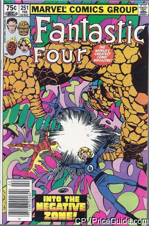 fantastic four 251 cpv canadian price variant image