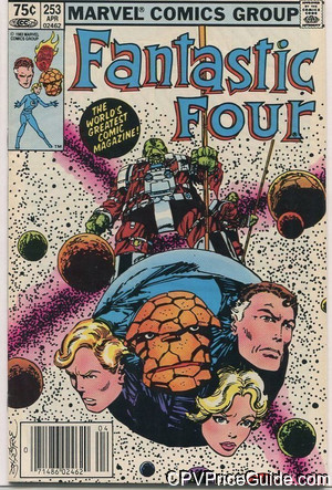 fantastic four 253 cpv canadian price variant image