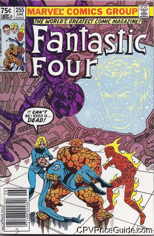 fantastic four 255 cpv canadian price variant image