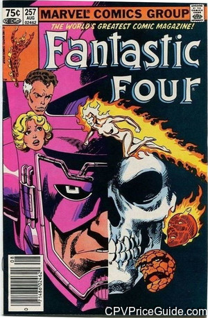fantastic four 257 cpv canadian price variant image