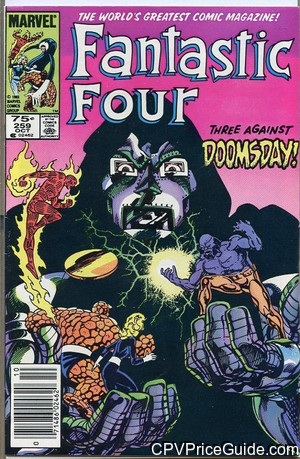 Fantastic Four #259 75¢ Canadian Price Variant Comic Book Picture