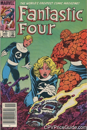 fantastic four 260 cpv canadian price variant image