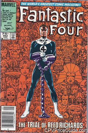 Fantastic Four #262 75¢ Canadian Price Variant Comic Book Picture