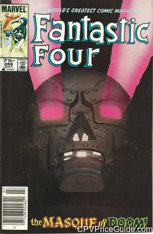 fantastic four 268 cpv canadian price variant image