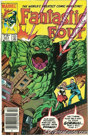 fantastic four 271 cpv canadian price variant image