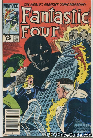 Fantastic Four #278 75¢ Canadian Price Variant Comic Book Picture