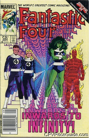 fantastic four 282 cpv canadian price variant image