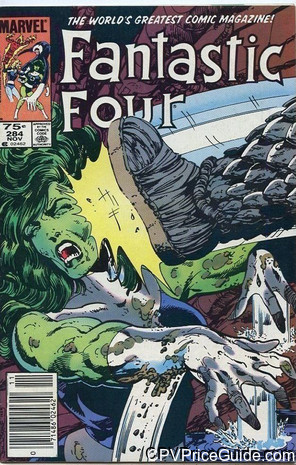 fantastic four 284 cpv canadian price variant image