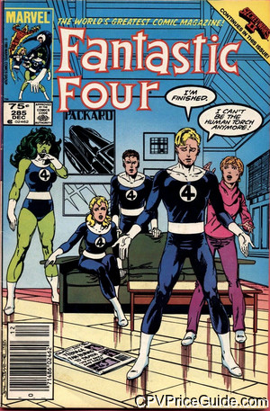 fantastic four 285 cpv canadian price variant image