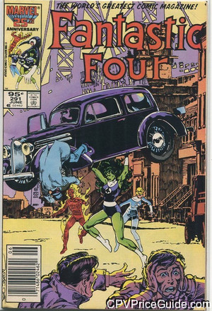 fantastic four 291 cpv canadian price variant image