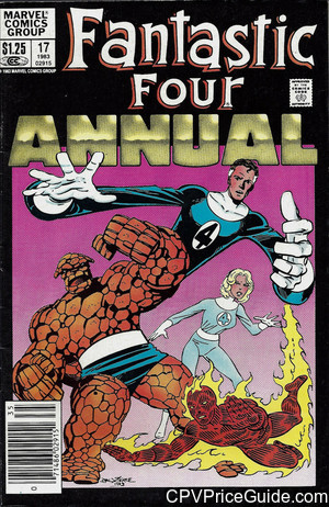 fantastic four annual 17 cpv canadian price variant image