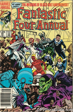 fantastic four annual 18 cpv canadian price variant image