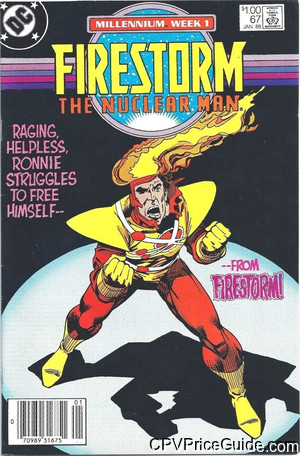 Firestorm the Nuclear Man #67 $1.00 Canadian Price Variant Comic Book Picture