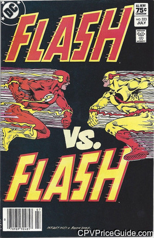 Flash #323 75¢ Canadian Price Variant Comic Book Picture