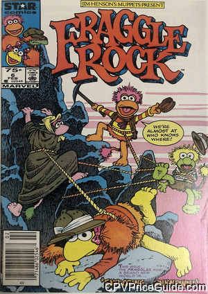 fraggle rock 6 cpv canadian price variant image