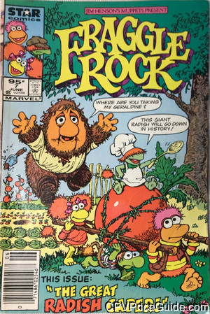 fraggle rock 7 cpv canadian price variant image